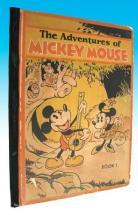 The Adventures of Mickey Mouse - Book 1 cover