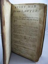 First general law book printed in the United States.