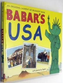 The lovable elephant and his family take a tour of the United States.