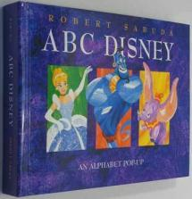 An Alphabet book painted in bold colors and patterns.