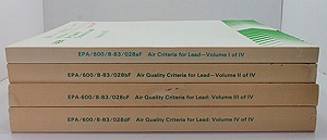 Air Quality Criteria for Lead (4 volumes)N/A - Product Image