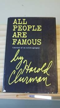 All people are famous (Instead of an autobiography)Clurman, Harold - Product Image