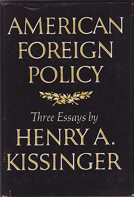 American Foreign Policy: Three EssaysKissinger, Henry A. - Product Image