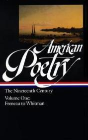 American Poetry: The Nineteenth Century, Vol. 1: Philip Freneau to Walt Whitmanby: Various - Product Image