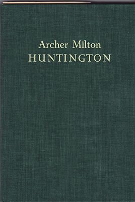 Archer Milton HuntingtonProske, Beatrice Gilman - Product Image