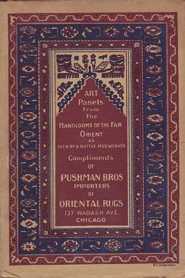 Art Panels from the Handlooms of the Far Orient as Seen by a Native Rug WeaverPushman Bros. - Product Image