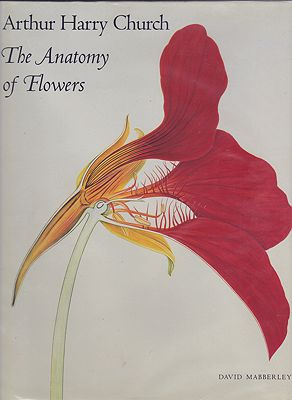 Arthur Harry Church - The Anatomy of FlowersMabberley, David, Illust. by: Arthur Harry  Church - Product Image