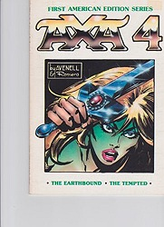 Axa 4: The Earthbound, The Temptedby: Avenell, Donne and Enrique Romero - Product Image