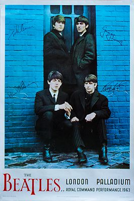 Beatles, The: London Palladium - Royal Command Performance 1963 (POSTER)Beatles, The - Product Image