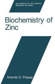 Biochemistry of ZincPrasad, Ananda - Product Image
