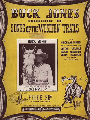 Buck Jones Collection Of Songs Of The Western TrailsJones, Buck - Product Image
