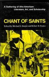 Chant of Saints: A Gathering of Afro American Literature Art and ScholarshipHarper, Michael S. - Product Image