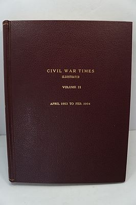 Civil War Times Illustrated: Volume II - April 1963 to Feb. 1964by: Fowler (Ed.), Robert - Product Image