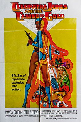 Cleopatra Jones and the Casino of Gold (MOVIE POSTER)illustrator- N/A - Product Image