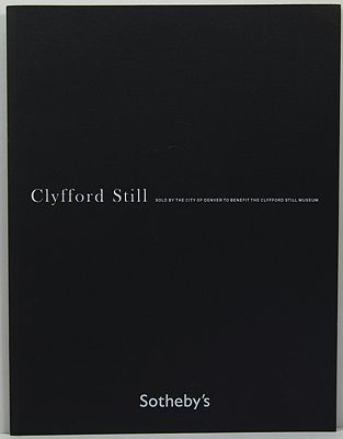 Clyfford Still - Sold by the City of Denver to Benefit the Clyfford Still Museum - Sotheby's - Contemporary Art - New York - November 9, 2011Sotheby's - Product Image