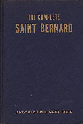Complete Saint Bernard, TheDenlinger, Milo G. - Product Image