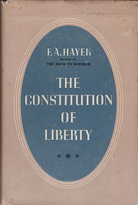 Constitution of Liberty, TheHayek, F.A. - Product Image