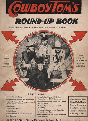 "<p class=""ttl"">Cowboy Tom's Round-Up Book<p><br />Tom, Cowboy</span>"