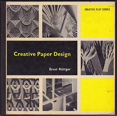 Creative Paper DesignRottger, Ernst - Product Image