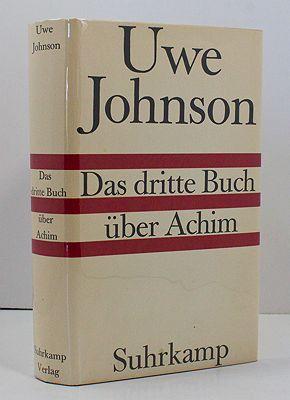 Das Dritte Buch Uber AchimJohnson, Uwe - Product Image