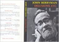 Delusions, Etc.by: Berryman, John - Product Image