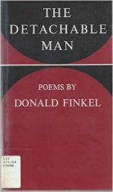 Detachable Man, The: Poemsby: Finkel, Donald - Product Image