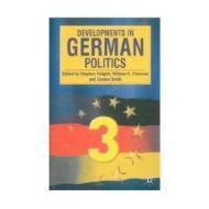 Developments in German Politicsby: Padgett, Stephen - Product Image