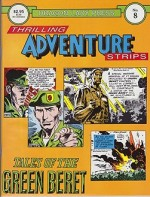 Dragon Lady Press: Thrilling Adventures Strips - No. 8: Tales of the Green Beretby: Kubert, Joe and Robin Moore - Product Image