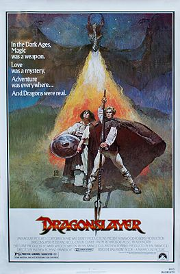 Dragonslayer (MOVIE POSTER)N/A, Illust. by: Jeffery  Jones - Product Image