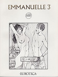 Emmanuelle 3. The Anti Virgin. From the Novel by Emmanuelle Arsan by: Crepax, Guido - Product Image