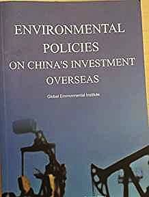 Environmental protection of China's foreign investment policy (In English)press, Chinese environmental science - Product Image