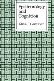 Epistemology and Cognitionby: Goldman, Alvin I. - Product Image