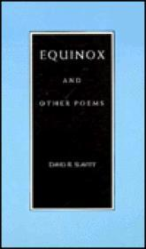 Equinox and other poemsSlavitt, David - Product Image