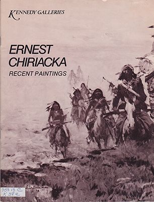 Ernest Chiriacka: Recent PaintingsChiriacka, Ernest, Illust. by: Ernest  Chiriacka - Product Image