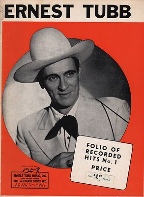 "<p class=""ttl"">Ernest Tubb Folio of Recorded Hits No. 1<p><br />Tubb, Ernest</span>"