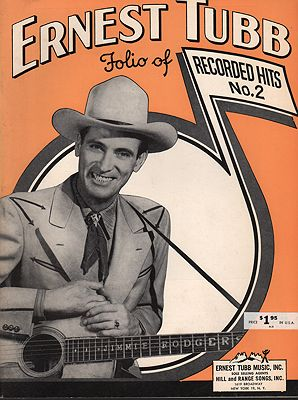 "<p class=""ttl"">Ernest Tubb Folio of Recorded Hits No.2<p><br />Tubb, Ernest</span>"