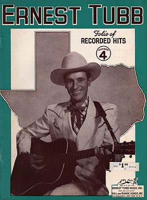 "<p class=""ttl"">Ernest Tubb Folio of Recorded Hits No.4<p><br />Tubb, Ernest</span>"