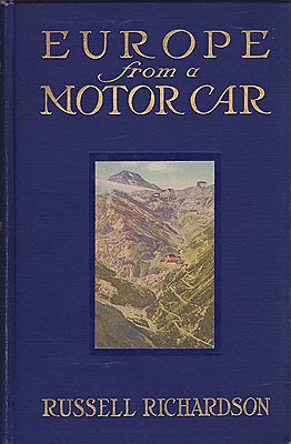 Europe from a Motor CarRichardson, Russell - Product Image