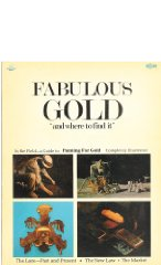 """Fabulous Gold """"and where to find it""""by: Thayer, ed. Donlu D - Product Image"""