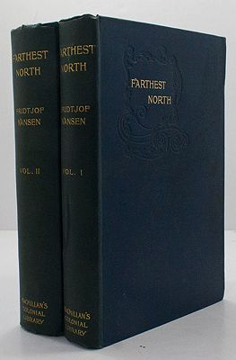 Farthest North: Being the record of a voyage of exploration of the ship `Fram', 1893-1896, and of a fifteen months' sleigh journey by Dr. Nansen and Lieut. Johansen. With an appendix by Otto Svedrup Captain of the `Fram'. In Two Volumes Vol - Product Image