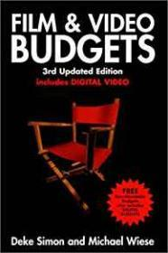 Film & Video Budgets, 3rd Updated Editionby: Simon, Deke - Product Image