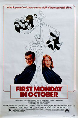 First Monday in October (MOVIE POSTER)N/A - Product Image