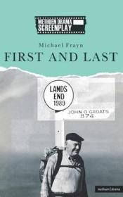 First and Last  (Signed by author) by: Frayn, Michael - Product Image