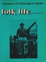 Folk Life: A Journal of Ethnological Studies: Volume Eighteenby: Linnard (Ed.), William - Product Image