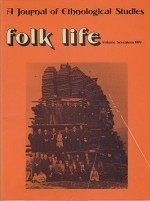 Folk Life: A Journal of Ethnological Studies: Volume Seventeenby: Jenkins (Ed.), J. Geraint - Product Image