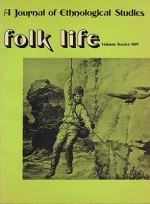 Folk Life: A Journal of Ethnological Studies: Volume Twelveby: Jenkins (Ed.), J. Geraint - Product Image