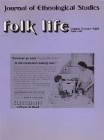 Folk Life: A Journal of Ethnological Studies: Volume Twenty-Eightby: Linnard (Ed.), William - Product Image