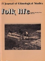 Folk Life: A Journal of Ethnological Studies: Volume Twenty-Twoby: Linnard (Ed.), William - Product Image