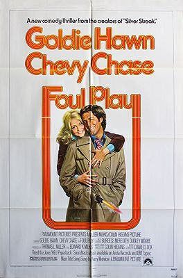 Foul Play (MOVIE POSTER)illustrator- Bernard  Lettick - Product Image