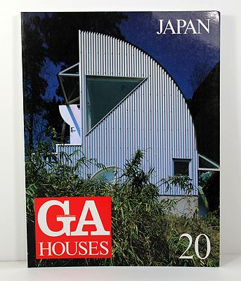 GA Houses 20 - Japan (English Text) (Japanese Text)Futagawa (Editor), Yukio/Wayne N. T. Fujii & Satoru Komaki - Product Image